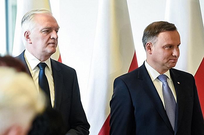 Jarosław Gowin i Andrzej Duda