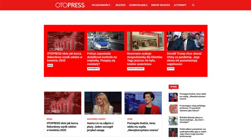OTOPRESS Portal otopress.pl