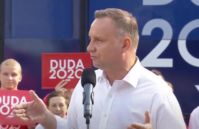 Anja Rubik do Andrzeja Dudy
