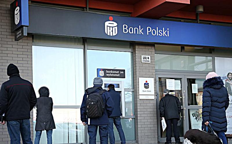 Pieniądze PKO BP Santander Bank Polska mBank