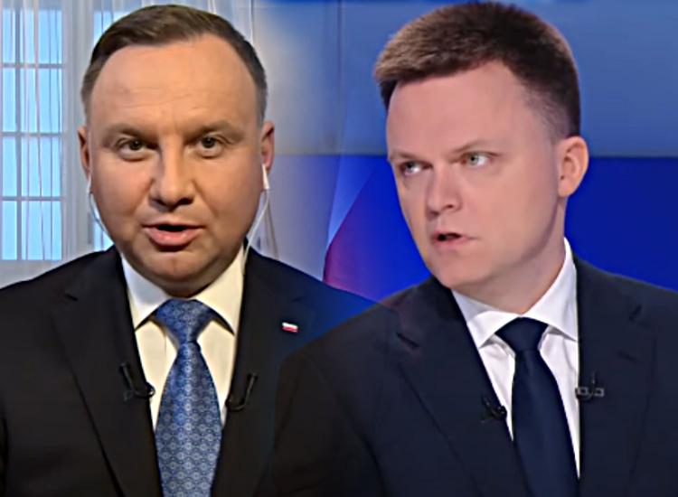 Szymon Hołownia uderza w Andrzeja Dudę