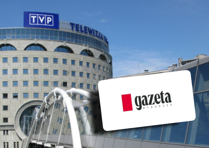 Gazeta Wyborcza, TVP