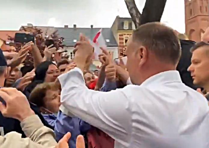 Andrzej Duda na spotkaniu z wyborcami