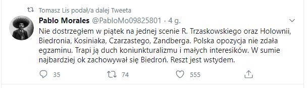 Lis o porażce Trzaskowskiego