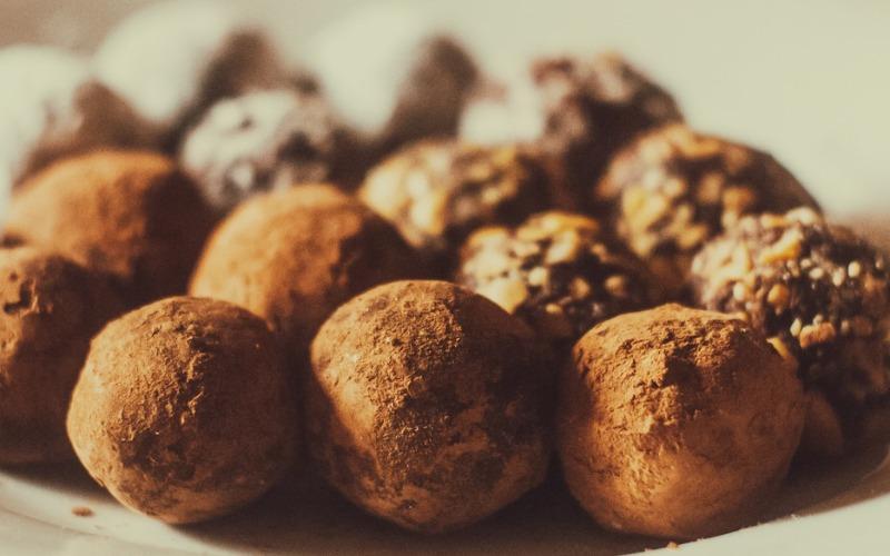 przepis na cukierki czekoladowe